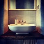 particolare del bagno della camera Maestrale