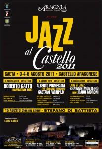 Locandina Jazz al Castello 2011